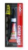 Клей KIM TEC Power Gel Моментальный Супер Клей 3 мл бесцветный 03-03-02