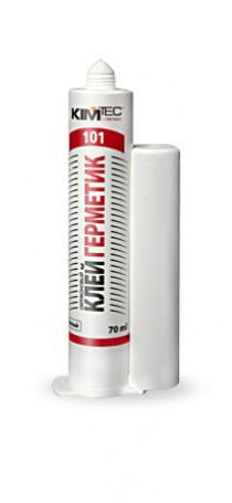 Клей Герметик силиконовый KIM TEC Silicon 101E 70 мл белый 02-01-41