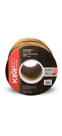 Уплотнитель KIM TEC E-профиль 150 м (9 мм x 4 мм) белый (75х2) п/м 04-14-09