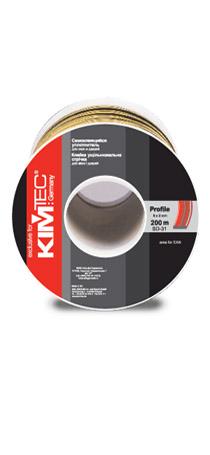Cамоклеящийся уплотнитель KIM TEC SD-31, 8мм x 2мм, 200 м   04-14-71 черный