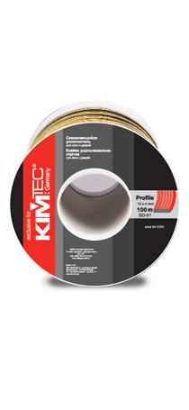 Cамоклеящийся уплотнитель KIM TEC SD-51/4, 15мм x 4мм, 100 м, черный 04-14-74