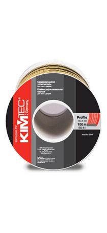 Cамоклеящийся уплотнитель KIM TEC SD-84/4, 15мм x 8мм, 50 м, черный 04-14-75