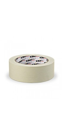 Малярная лента KIM TEC клейкая 30 мм х 50 м белая 05-01-03