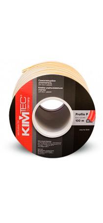 Уплотнитель KIM TEC P-профиль 100 м (9 мм x 5 мм) белый (50х2) п/м 04-14-05