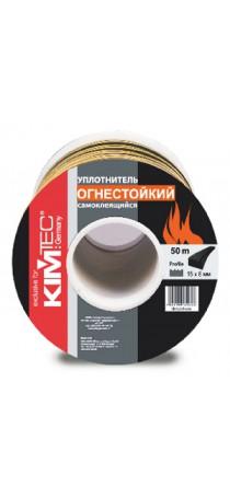 Уплотнитель огнестойкий «KIM TEC» SD-139N/4-850, 15мм x 8мм, 50 м, 04-14-62