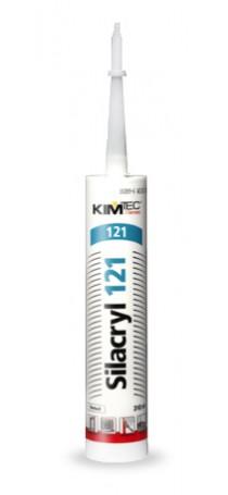 Герметик акриловый KIM TEC Silacryl 121 310 мл белый 02-04-72