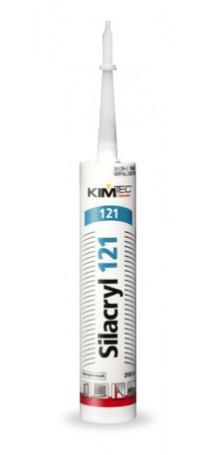 Герметик акриловый KIM TEC Silacryl 121 310 мл бесцветный 02-04-73