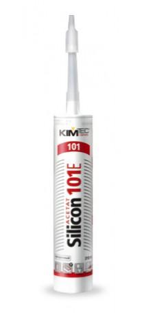 Герметик силиконовый KIM TEC Silicon 101Е 310 мл бесцветный 02-01-32