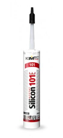 Герметик силиконовый KIM TEC Silicon 101Е 310 мл черный 02-01-44