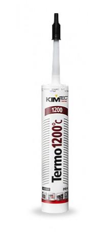 Герметик силиконовый KIM TEC Тermo 1200C 310 мл черный 02-07-01